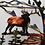 Thumbnail: Sawblade Metal Art Twin Elk