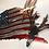 Thumbnail: Tattered Flag Drop Tine Skull...(4 Sizes Available)