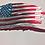 Thumbnail: Tattered Flag – US Flag Metal Art...           (6 Sizes Available)