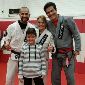 Jean Jacques Machado, Paolo, Brandon and Lora Gizzarelli