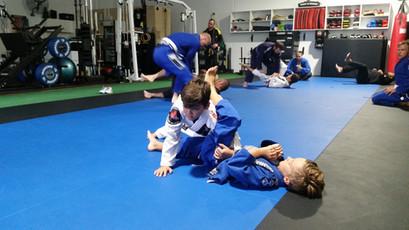 Jean Jacques Machado BJJ Perth kids class