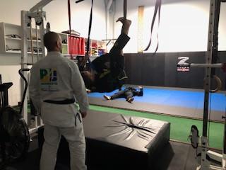 Jean Jacques Machado Perth grip training