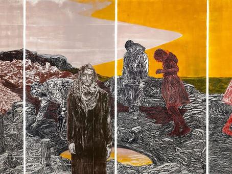 Orit Hofshi, Art Blossoms into 'Paradise' at Cade Tompkins Projects - The Boston Globe