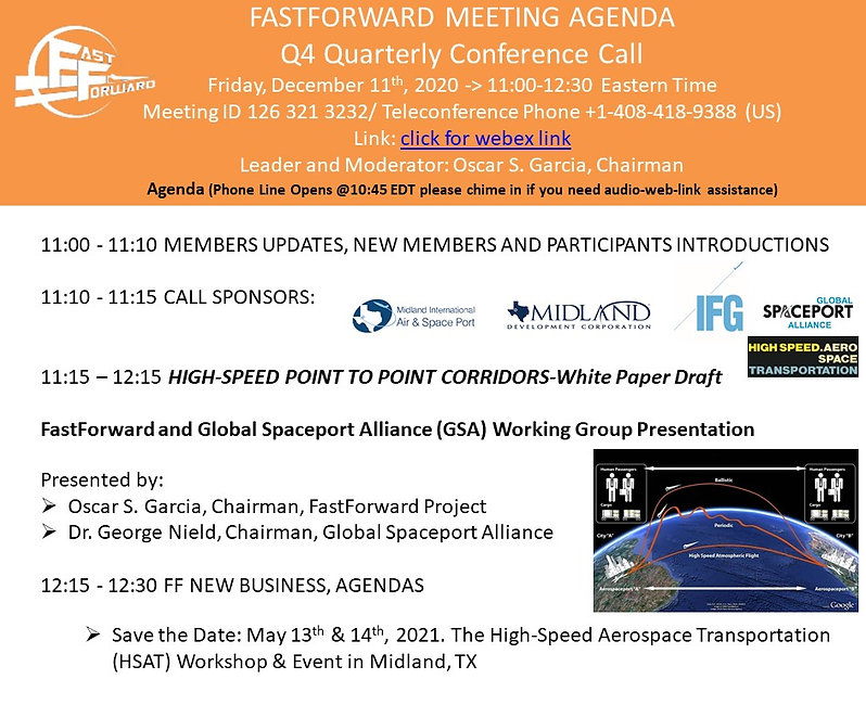201209 FF Q4 INVITATION P2P CORRIDORS FF