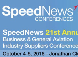 Oscar S. Garcia speaks at SpeedNews Conference in Los Angeles