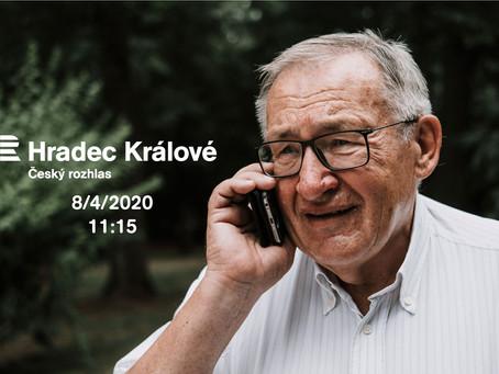 Rozhovor v Českém rozhlasu