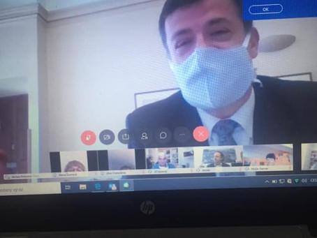 Zdravotnický výbor Senátu zvládá jednat i online