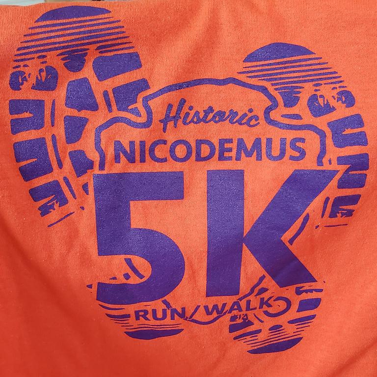 Nicodemus 5K Run/Walk $15 at registration 7/31/2021