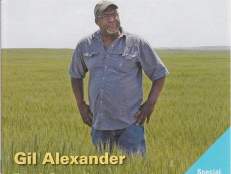 Gil Alexander featured in Magazine
