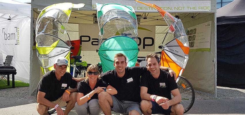 EuroBike ParaTop.ch Regenverdeck für Fahrräder, Bicycle Rain Protection
