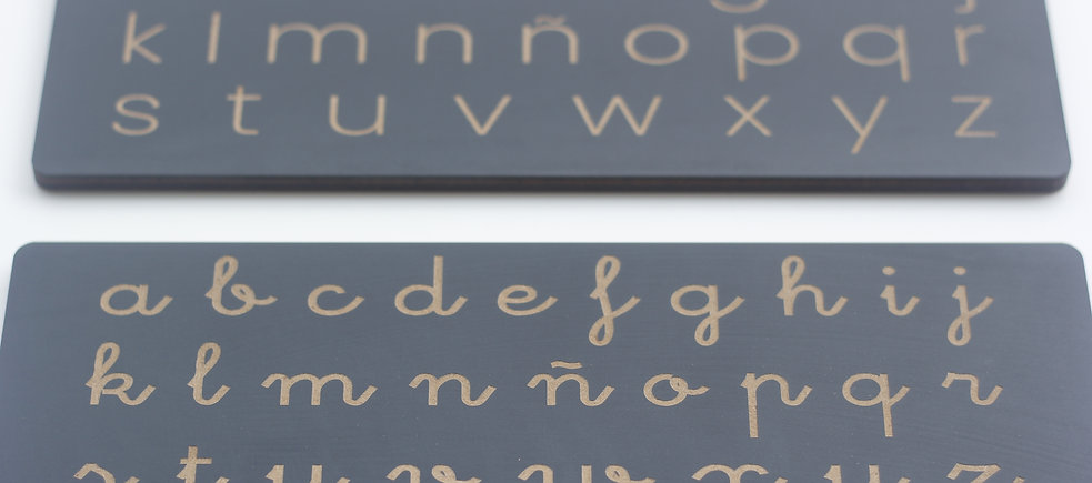 Tablilla abecedario
