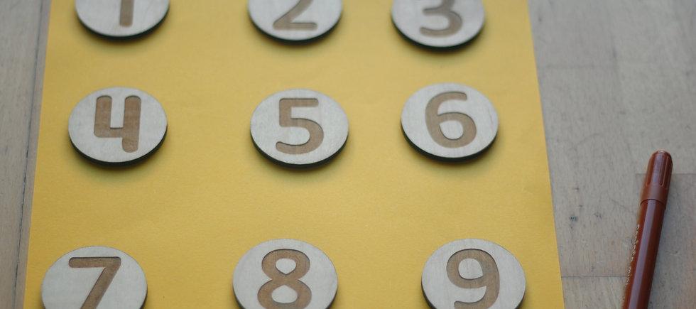 Círculos numéricos
