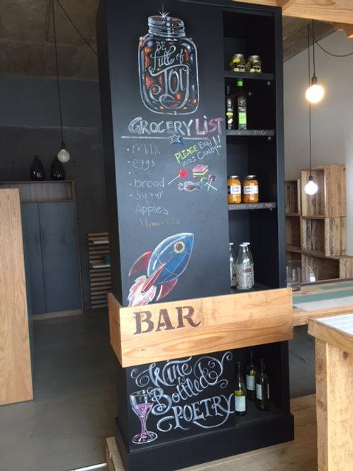 Chalk Board Cupboard