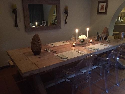 Farm House X-Frame Table