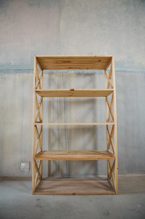 Madagascar Bookshelf in Driftwood