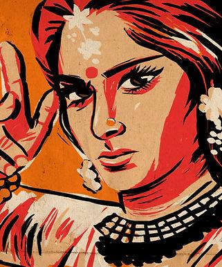 Street Art indien