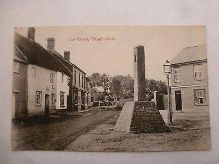 Vintage-Postcard-The-Cross-Copplestone-Devon-1900-V1.jpg