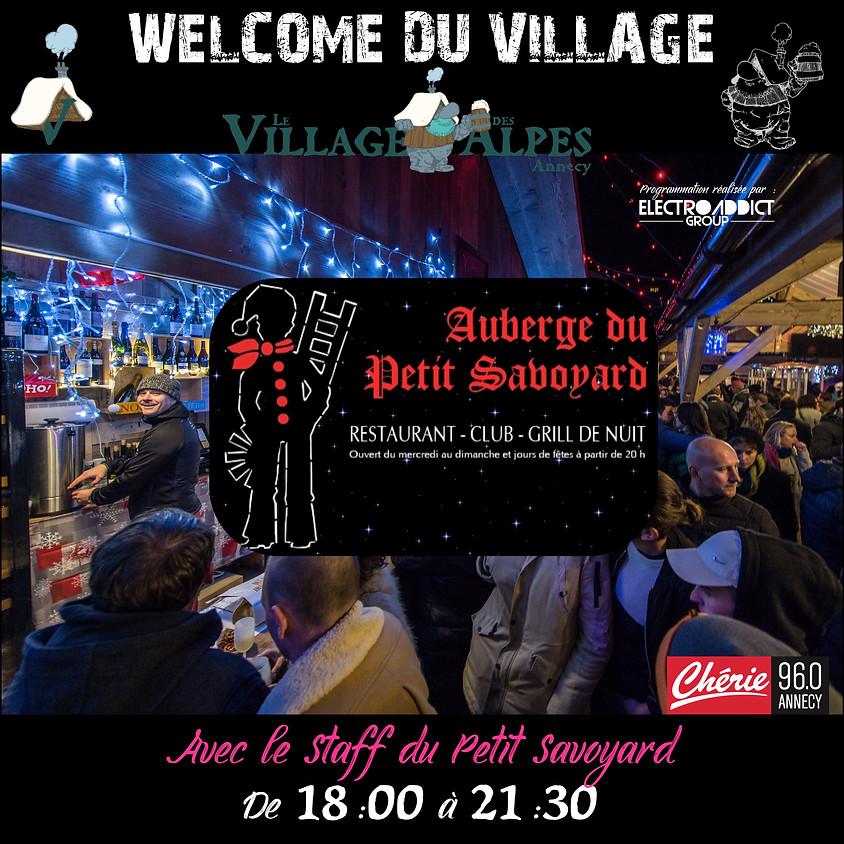 WELCOME du Village des Alpes