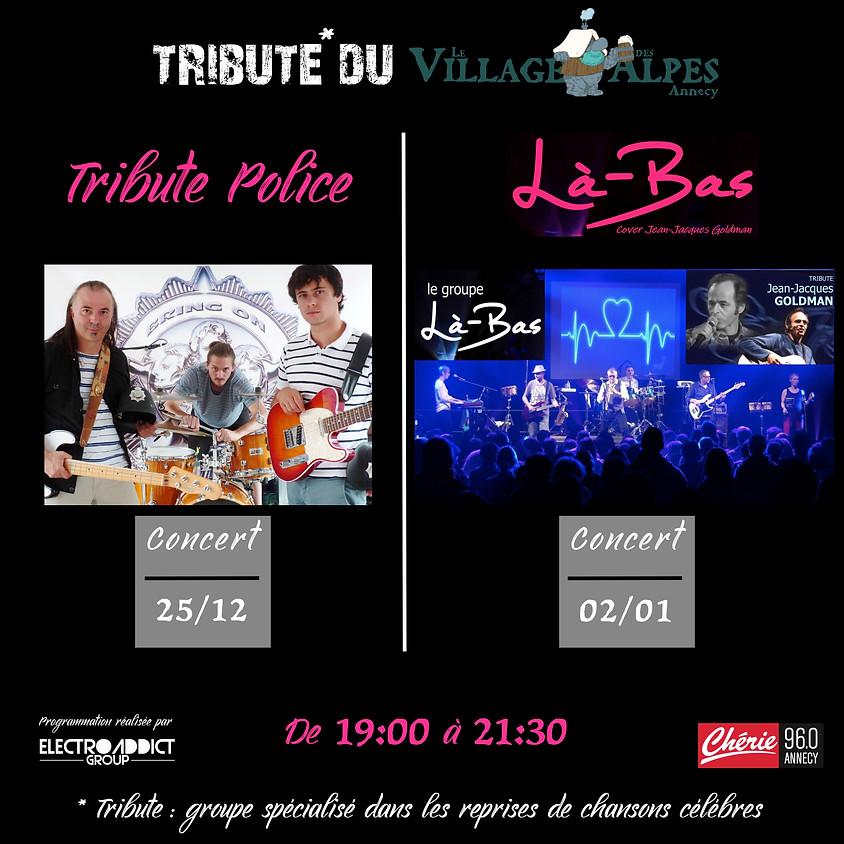 Tribute POLICE - BRING ON   - Village des Alpes