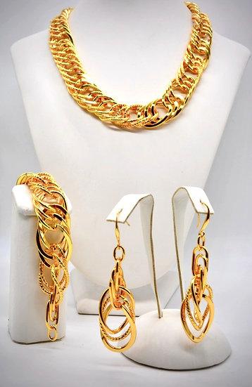 Brass Tripla girata Gold