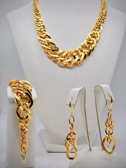 Brass Rombo raggiata Gold