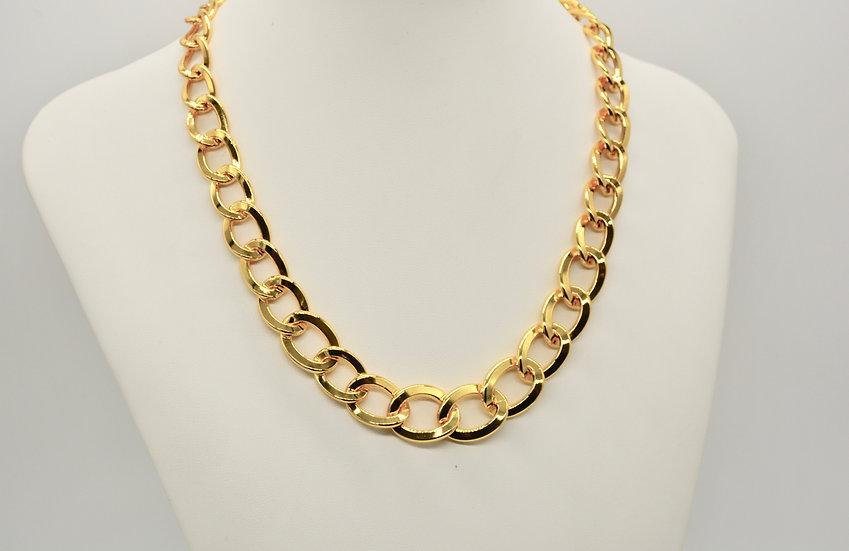 Brass Grumetta a scalare Gold Collana