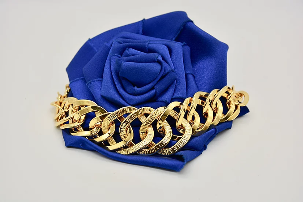 Brass Rombo Raggiata Gold Bracciale.png