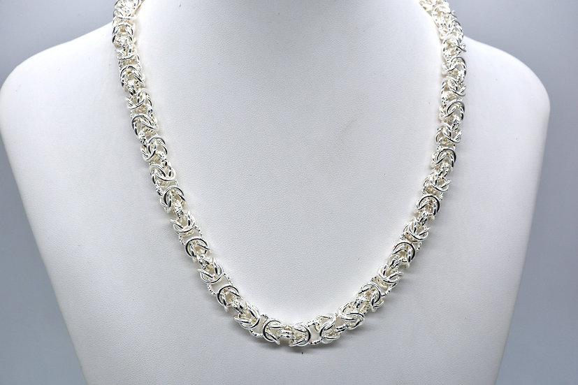 Brass Bizantina Silver Collana