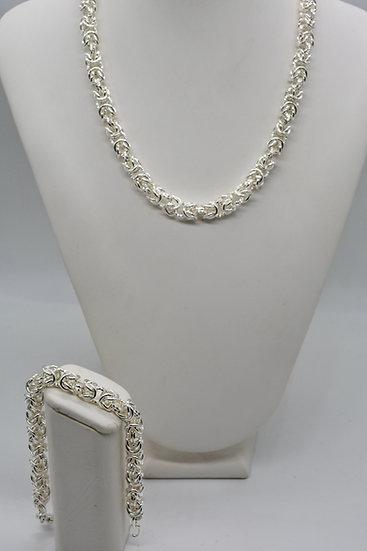 Brass Bizantina silver