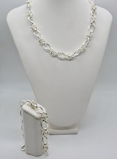 Brass Bizantina alternata Silver