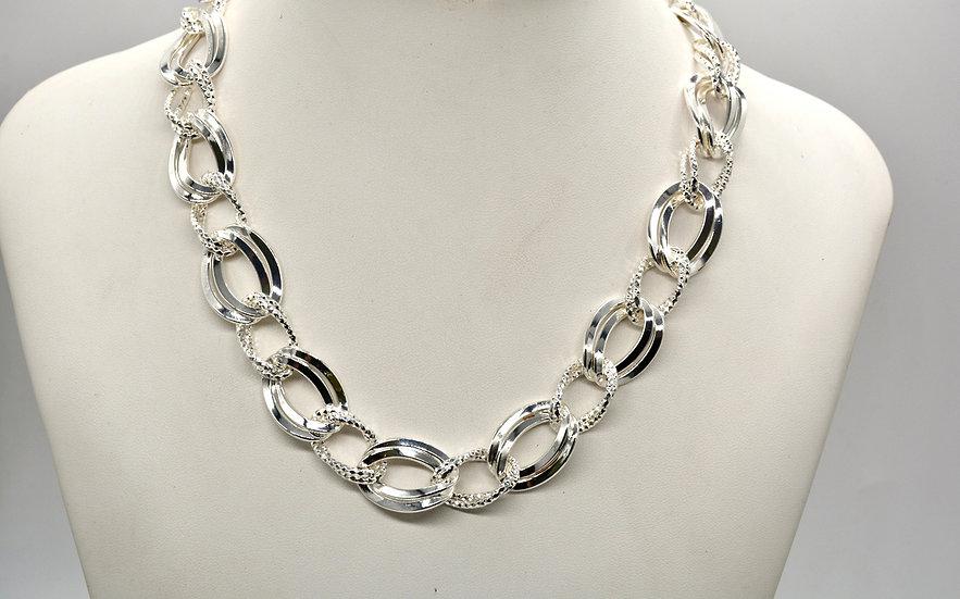 Brass Gemella Gd Silver Collana