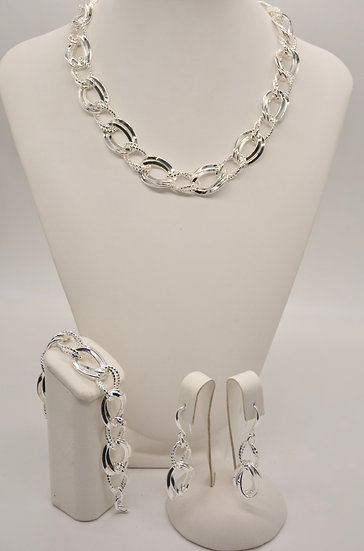 Brass Gemella Gd Silver