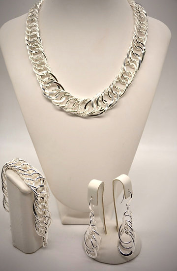 Brass Tripla girata Silver