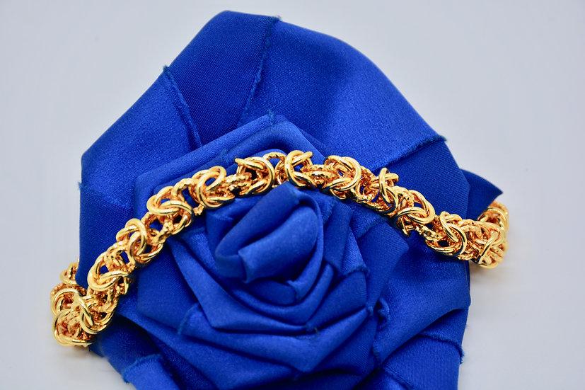 Brass Bizantina gold bracciale