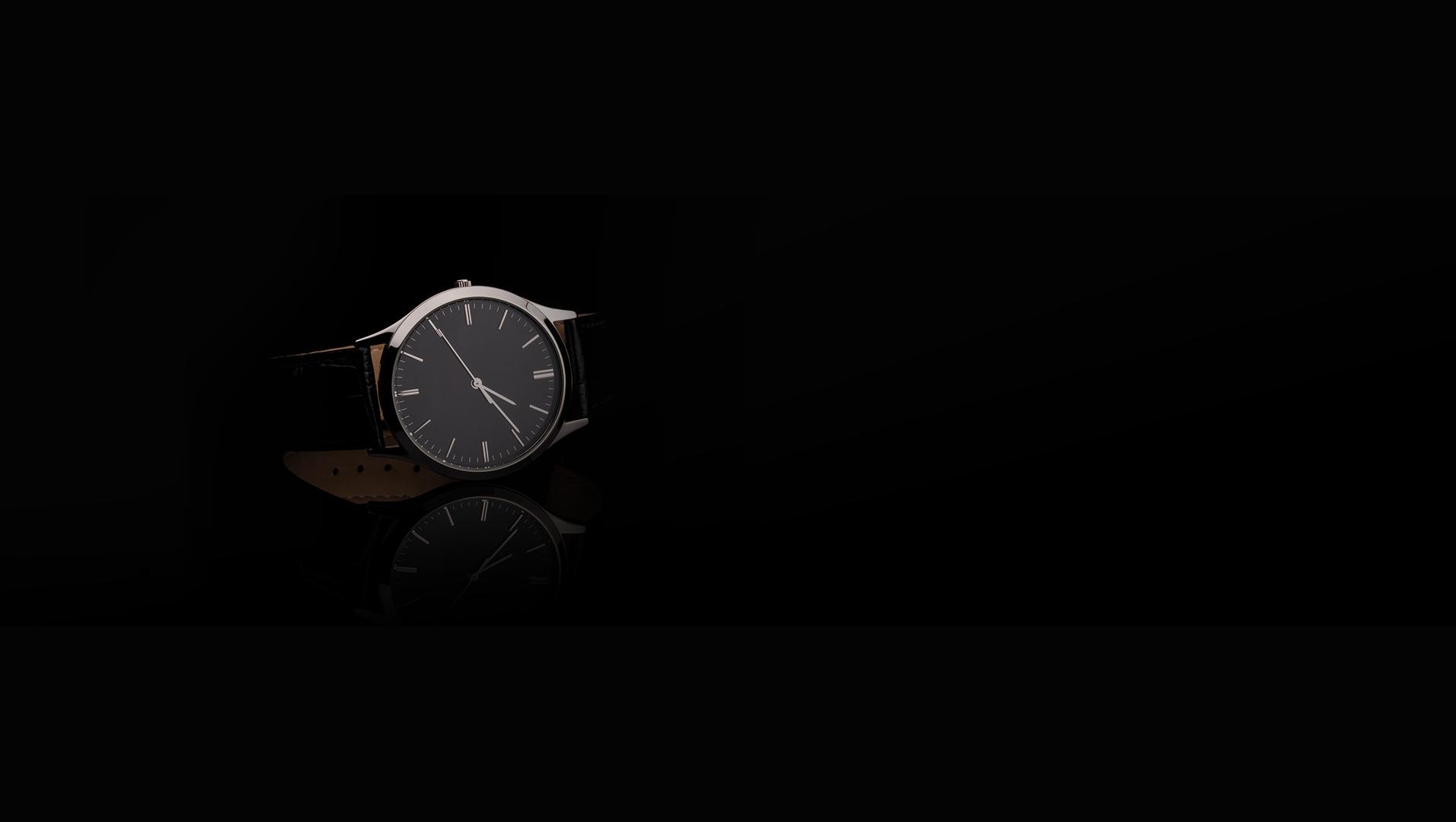 Orologio nero