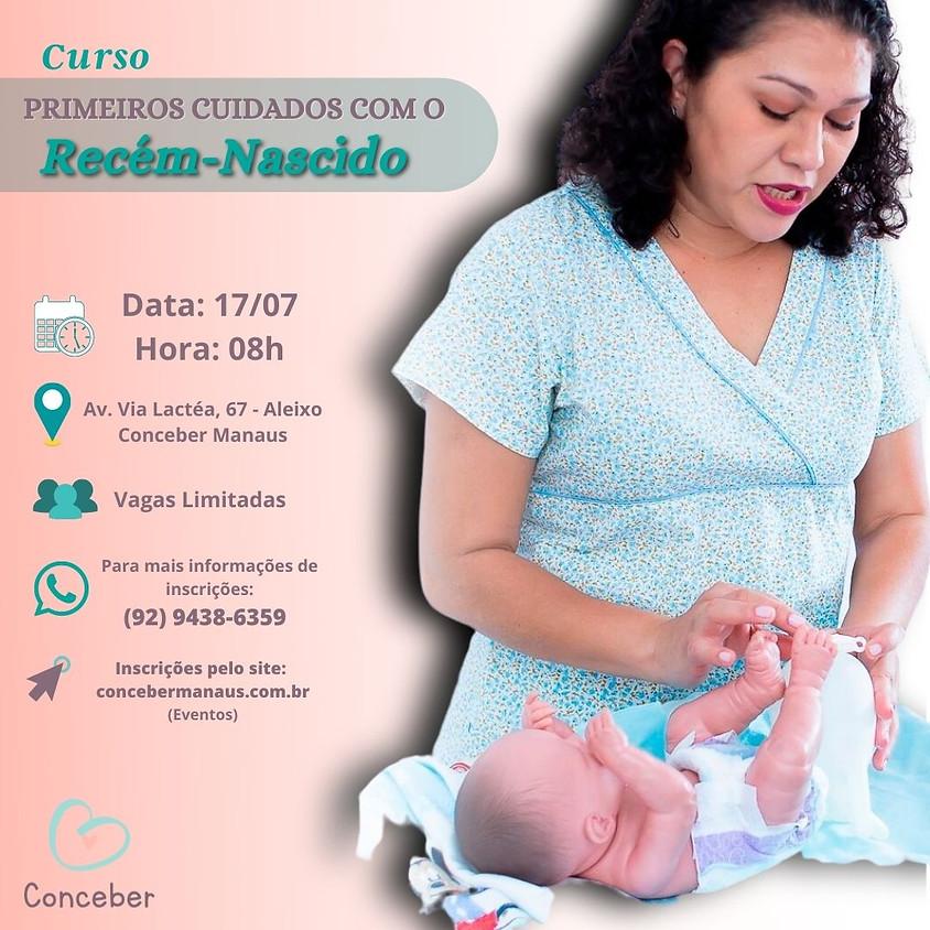 Curso - Primeiros cuidados com o Recém-nascido