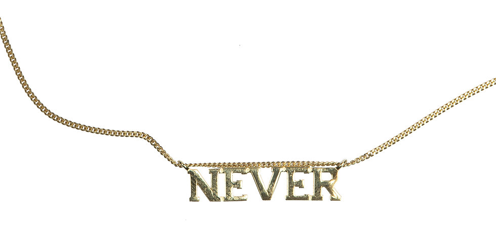 (IN)DECISIVE NECKLACE, NEVER