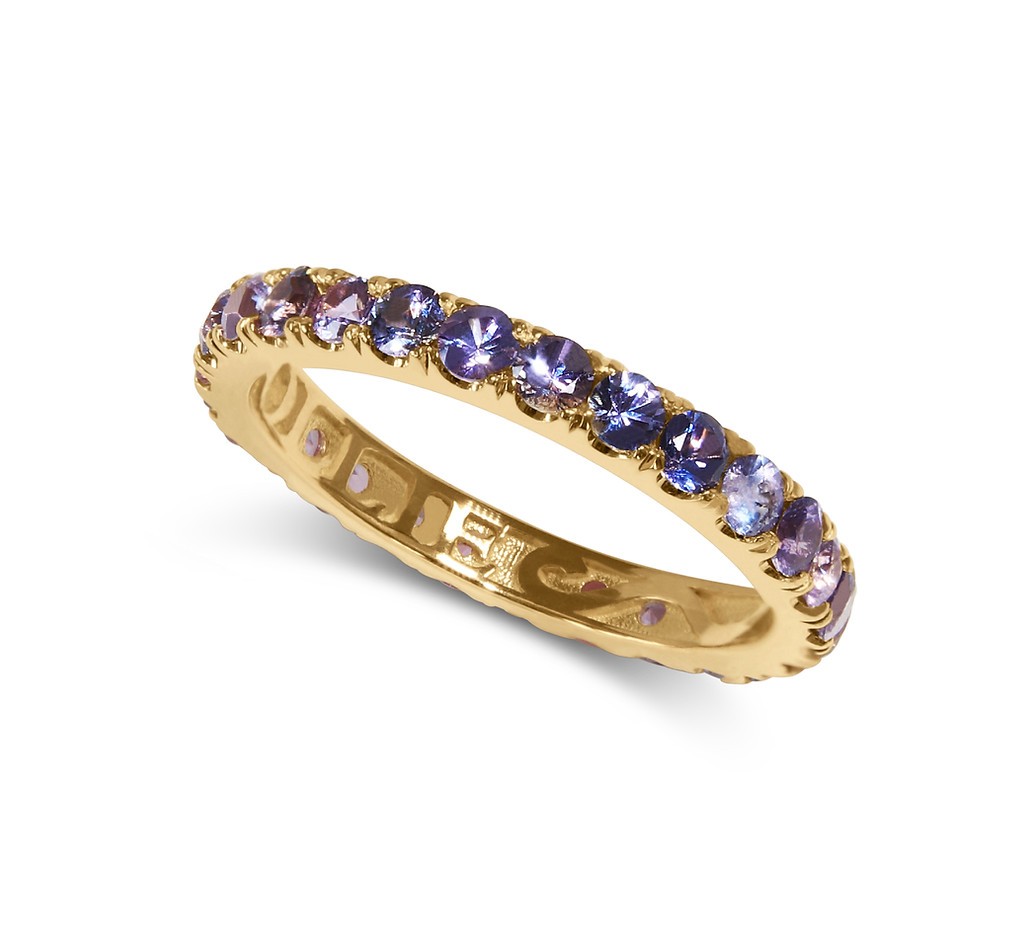 Purple & Pink Ping Pong Ring, custom gallery