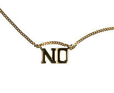(IN)DECISIVE NECKLACE, NO
