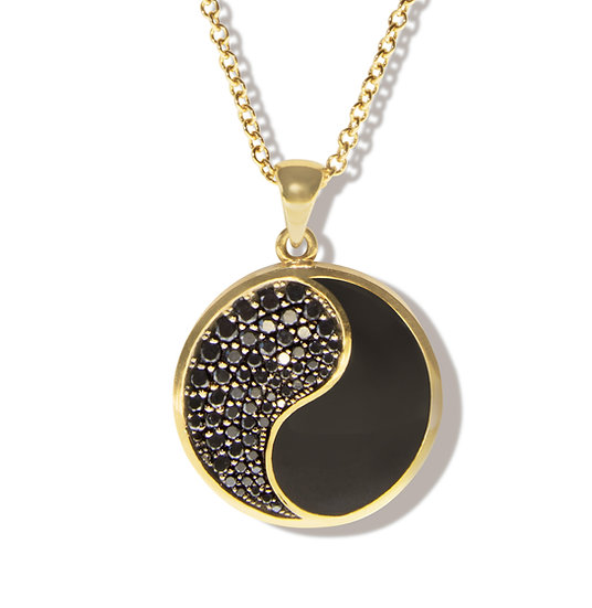 BALANCE NECKLACE, BLACK