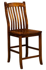 Artisan Chairs - Arts & Crafts Bar Stool
