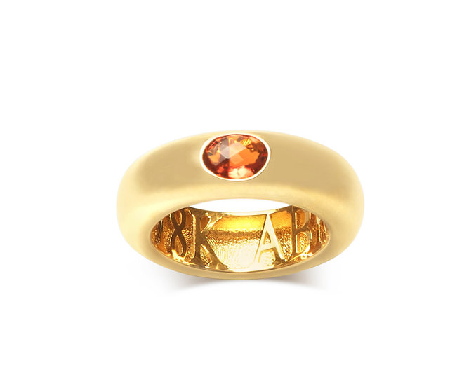 GYPSY RING, MEXICAN FIRE OPAL