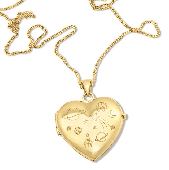 HEART.SPACE LOCKET