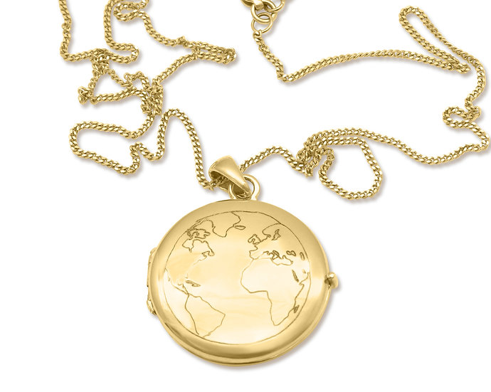 CIRCLE.EARTH LOCKET