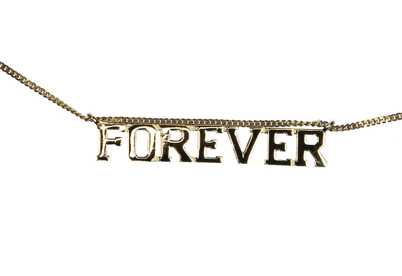 (IN)DECISIVE NECKLACE, FOREVER