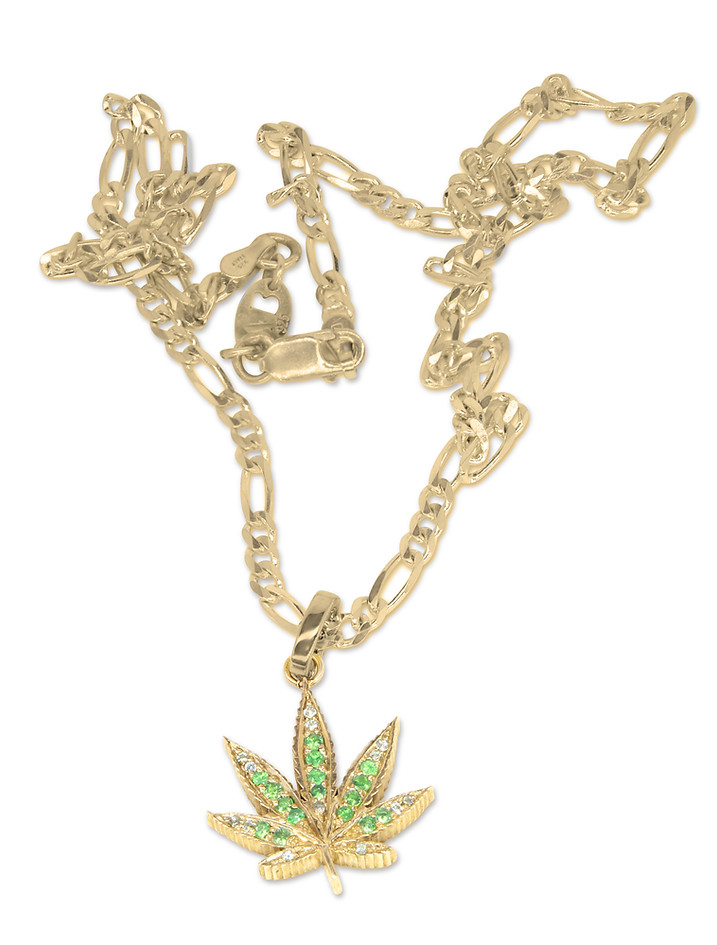 Emerald Pave Sweet Leaf