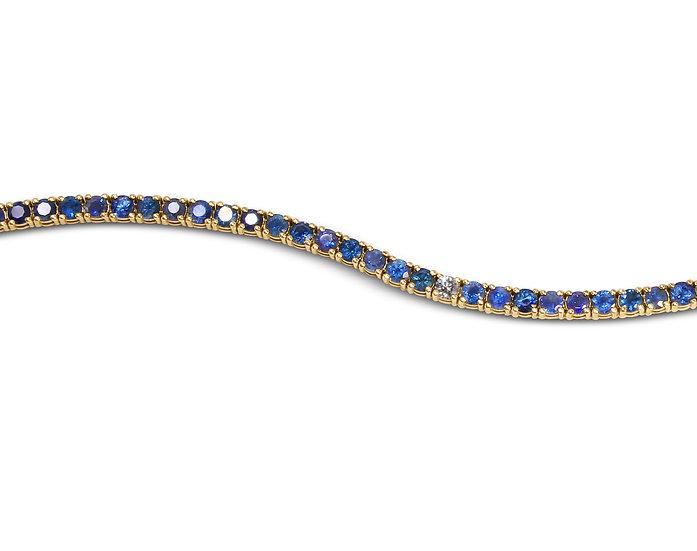 2.5MM PING PONG BRACELET, BLUE