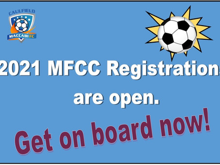 Season 2021 Registrations