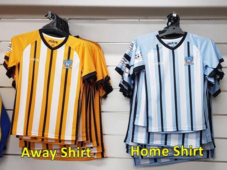 Club Uniform Shirts 2021