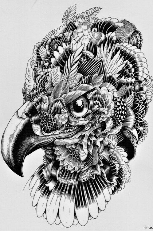 Vogelkopf Federn